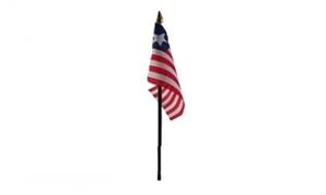 Billede af Liberia Bordflag (10x15cm)