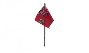 Billede af Bermuda Bordflag (10x15cm)
