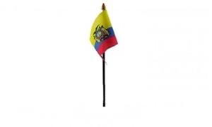Billede af Ecuador Bordflag (10x15cm)