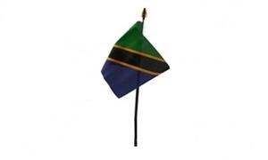 Tanzania Bordflag (10x15cm)