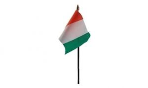 Billede af Elfenbenskysten Bordflag (10x15cm)