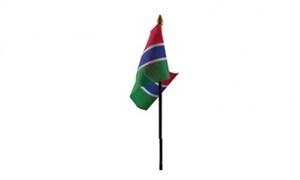 Billede af Gambia Bordflag (10x15cm)