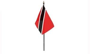 Trinidad og Tobago Bordflag (10x15cm)