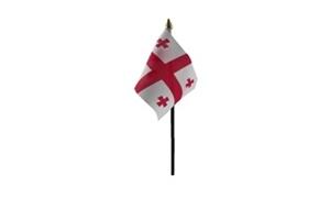 Billede af Georgien Bordflag (10x15cm)