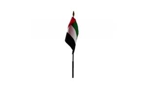 Billede af Forenede Arabiske Emirater Bordflag (10x15cm)
