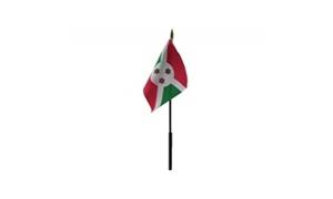 Billede af Burundi Bordflag (10x15cm)