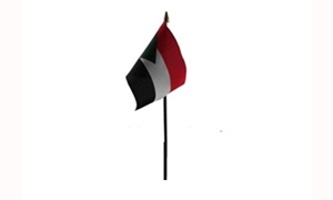 Billede af Sudan Bordflag (10x15cm)