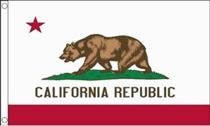 Billede af California Flag (90x150cm)