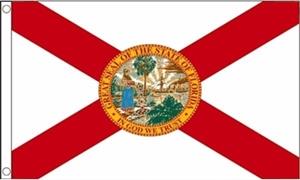 Billede af Florida Flag (90x150cm)