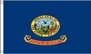 Billede af Idaho Flag (90x150cm)