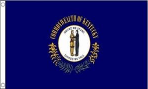 Billede af Kentucky Flag (90x150cm)