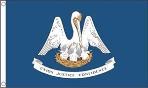 Billede af Louisiana Flag (90x150cm)