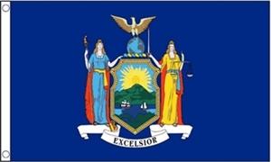 Billede af New York Flag (90x150cm)