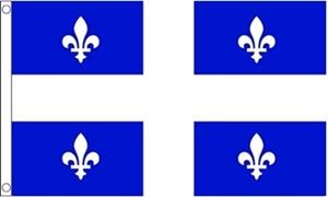 Billede af Quebec Flag (90x150cm)