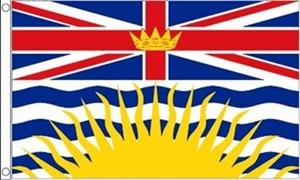 Billede af British Colombia Flag (90x150cm)