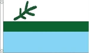 Billede af Labrador Flag (90x150cm)
