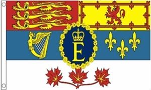 Billede af Canadian Royal Standard Flag (90x150cm)