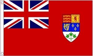 Billede af Canadian WWII Flag (90x150cm)