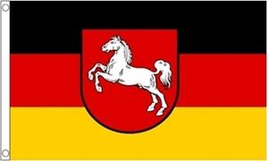 Billede af Lower Saxony Flag (90x150cm)