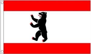Billede af Berlin Flag (90x150cm)