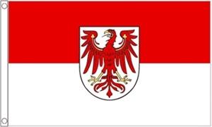 Billede af Brandenburg Flag (90x150cm)