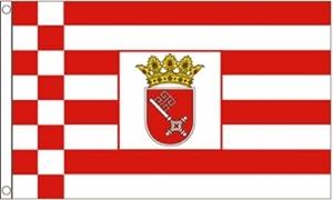 Billede af Bremen Flag (90x150cm)
