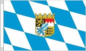 Billede af Bavaria Crest Flag (90x150cm)