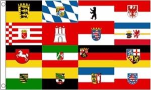 Billede af German Federal States Flag (90x150cm)