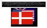 Flag Størrelse 90x150cm
