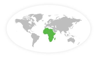 Afrika Flag 60x90cm