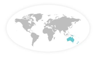 Oceanien Flag 150x240cm