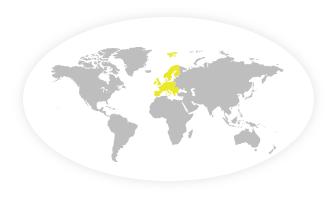 Europa Flag 60x90cm