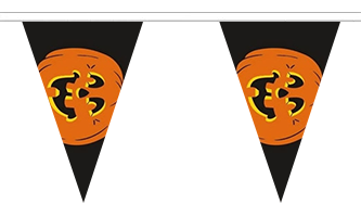 Halloween Triangle Guirlander 5m