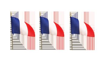 Nationale Håndflag 10x15cm