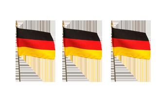 Nationale Håndflag 15x22cm