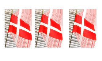 Nationale Håndflag 30x45cm