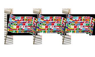 Andre Håndflag 15x22cm