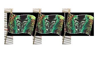 Pirat Håndflag 30x45cm