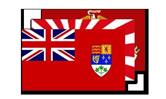 Historie og Militær Flag 150x240cm
