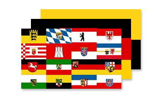 Tyskland Flag 150x240cm