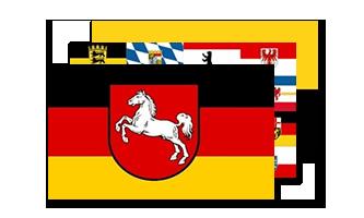 Tyskland Flag 60x90cm