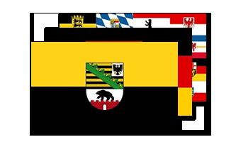 Tyskland Flag 90x150cm