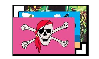 Pirat Flag 60x90cm