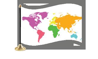 Kontinenter Bordflag