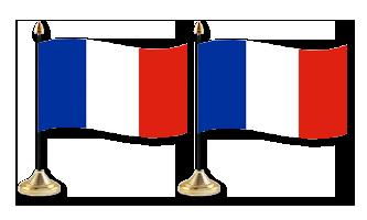 Frankrig Bordflag