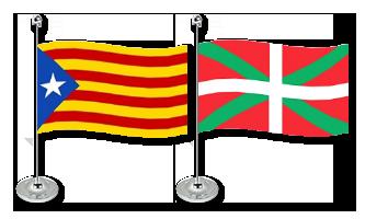 Spanien Bordflag 15x22cm (Satin)