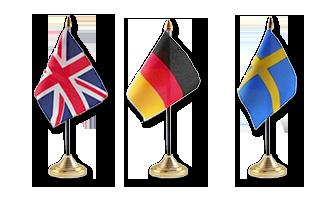 Nationale Bordflag 10x15cm