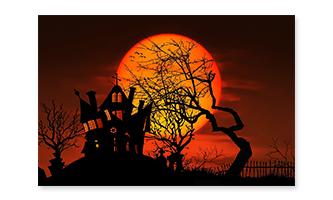 Halloween Flag 60x90cm