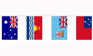 Image of   14 Oceania Nations Guirlander 5.5m (14 flag)