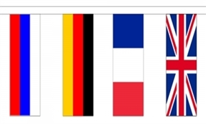 Image of   24 European Nation Guirlander 8m (24 flag)